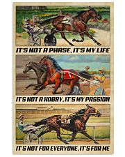 Harness Racing It's My Life 24x36 Poster front