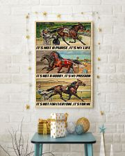 Harness Racing It's My Life 24x36 Poster lifestyle-holiday-poster-3