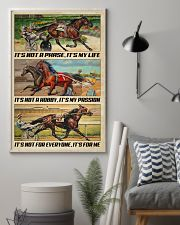 Harness Racing It's My Life 24x36 Poster lifestyle-poster-1