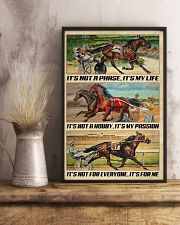 Harness Racing It's My Life 24x36 Poster lifestyle-poster-3