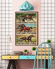 Harness Racing It's My Life 24x36 Poster lifestyle-poster-6