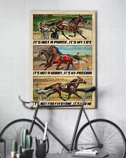 Harness Racing It's My Life 24x36 Poster lifestyle-poster-7