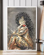 Latina Girl Music Head  24x36 Poster lifestyle-poster-4