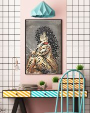 Latina Girl Music Head  24x36 Poster lifestyle-poster-6