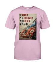 Motorsport A Winner Is A Dreamer  Classic T-Shirt tile