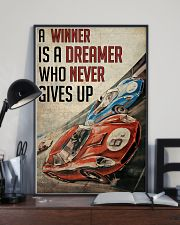 Motorsport A Winner Is A Dreamer  24x36 Poster lifestyle-poster-2