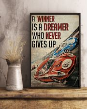 Motorsport A Winner Is A Dreamer  24x36 Poster lifestyle-poster-3