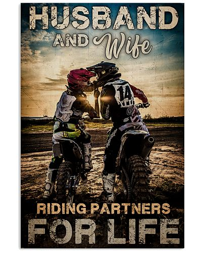 Husband And Wife Riding Partners