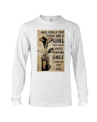 OUAT Girl Loved Golf