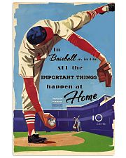 Baseball Important Things 24x36 Poster front