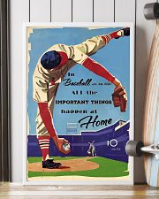 Baseball Important Things 24x36 Poster lifestyle-poster-4