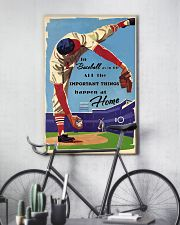 Baseball Important Things 24x36 Poster lifestyle-poster-7
