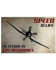 Speed Is Life 36x24 Poster front