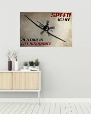 Speed Is Life 36x24 Poster poster-landscape-36x24-lifestyle-01