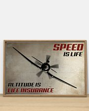 Speed Is Life 36x24 Poster poster-landscape-36x24-lifestyle-03