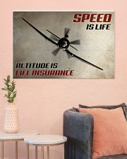 Speed Is Life 36x24 Poster poster-landscape-36x24-lifestyle-18