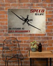 Speed Is Life 36x24 Poster poster-landscape-36x24-lifestyle-20