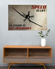 Speed Is Life 36x24 Poster poster-landscape-36x24-lifestyle-21