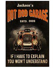 Hot Rod Garage Explain  24x36 Poster front
