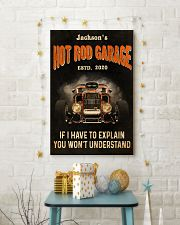 Hot Rod Garage Explain  24x36 Poster lifestyle-holiday-poster-3