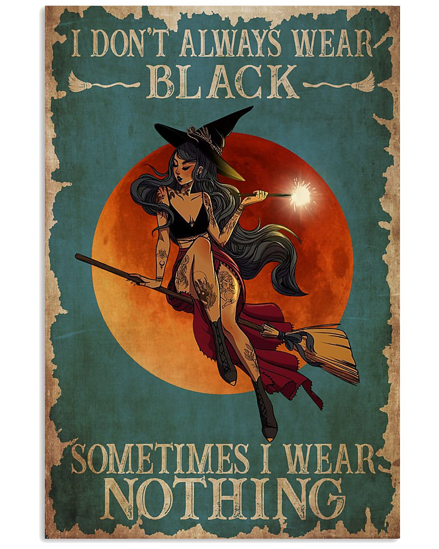 Wizard And Witches 24x36 Poster