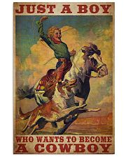 Boy Wants To Be Cowboy  24x36 Poster front