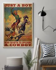 Boy Wants To Be Cowboy  24x36 Poster lifestyle-poster-1