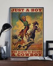 Boy Wants To Be Cowboy  24x36 Poster lifestyle-poster-2
