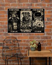 BW Engine It's Not A Phase  36x24 Poster poster-landscape-36x24-lifestyle-20