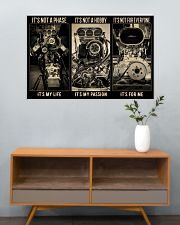 BW Engine It's Not A Phase  36x24 Poster poster-landscape-36x24-lifestyle-21