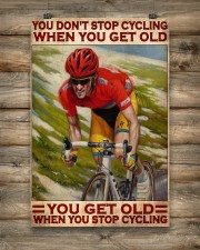 Cycling You Don't Stop Cycling 24x36 Poster aos-poster-portrait-24x36-lifestyle-14