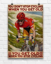 Cycling You Don't Stop Cycling 24x36 Poster aos-poster-portrait-24x36-lifestyle-17