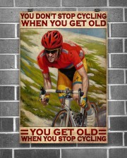 Cycling You Don't Stop Cycling 24x36 Poster aos-poster-portrait-24x36-lifestyle-18