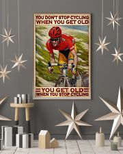 Cycling You Don't Stop Cycling 24x36 Poster lifestyle-holiday-poster-1