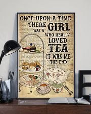 Girl Loved Tea Dictionary OUAT 24x36 Poster lifestyle-poster-2