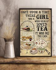 Girl Loved Tea Dictionary OUAT 24x36 Poster lifestyle-poster-3