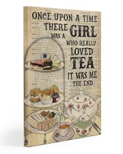 Girl Loved Tea Dictionary OUAT 20x30 Gallery Wrapped Canvas Prints thumbnail