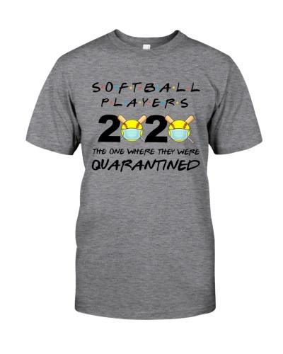 Softball Players 2020 Quarantined