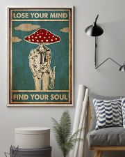 Mushroom Man Lose Your Mind 24x36 Poster lifestyle-poster-1
