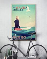 The Waves Are Calling - Surfing 24x36 Poster lifestyle-poster-7
