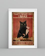Black Cat I Bake And I Know Things 24x36 Poster lifestyle-poster-5