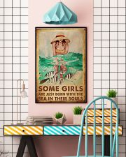 Some Girls With The Sea 24x36 Poster lifestyle-poster-6