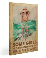 Some Girls With The Sea 20x30 Gallery Wrapped Canvas Prints thumbnail