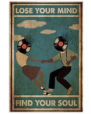 Black Couple Dance Lose Your Mind 24x36 Poster front