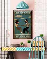 Black Couple Dance Lose Your Mind 24x36 Poster lifestyle-poster-6