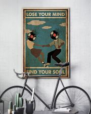 Black Couple Dance Lose Your Mind 24x36 Poster lifestyle-poster-7