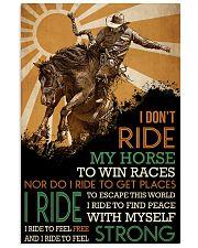 Cowboy I Ride 24x36 Poster front