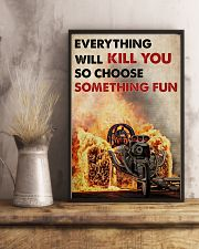FB Fear The Unlived Life  24x36 Poster lifestyle-poster-3