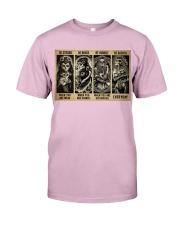 Sugar Skull Be Strong Classic T-Shirt tile