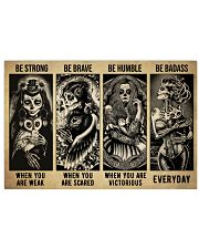 Sugar Skull Be Strong 36x24 Poster front